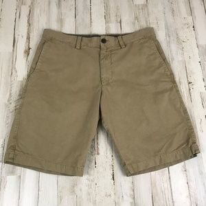 Banana Republic Mens Shorts 32 Tan Khaki Chinos
